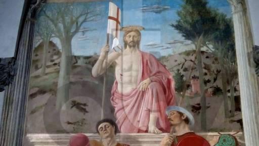 La Resurrezione e  la Seduzione  dal 25 Marzo al 6 Gennaio